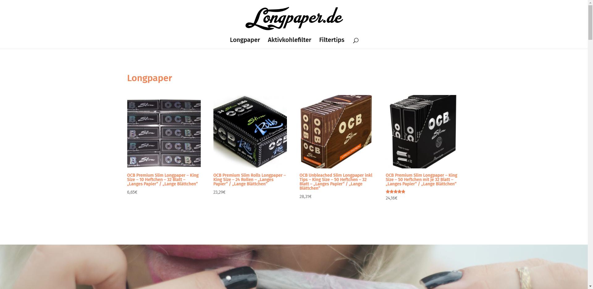 longpaper.de